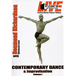Live at Broadway Dance Center-Contemporary Dance and Improvisation Vol. I with Desmond Richardson