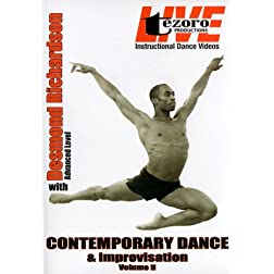 Live at Broadway Dance Center-Contemporary Dance and Improvisation Vol. II with Desmond Richardson