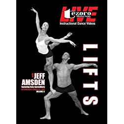 Live At Broadway Dance Center-Lifts Volume II with Jeff Amsden featuring Katy Spreadbury