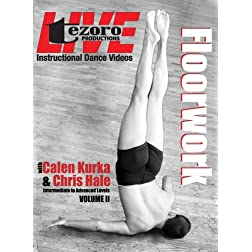 Live at Broadway Dance Center-Floorwoork Vol. II with Calen Kurka and CHris Hale