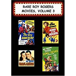 Rare Roy Rogers Movies, Vol. 3(Gay Ranchero, Heart of the Rockies, Man From Cheyenne, Song of Texas)