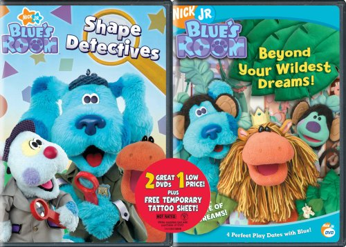 Blue's Clues: Blue's Room - Shape Detectives/Beyond Your Wildest Dreams