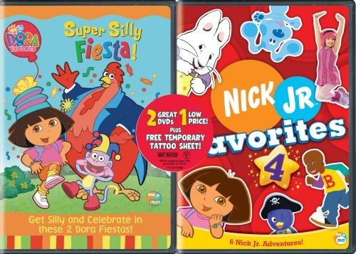 Dora the Explorer: Super Silly Fiesta/Nick Jr. Favorites, Vol. 4