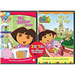 Dora the Explorer: Big Sister Dora/City of Lost Toys