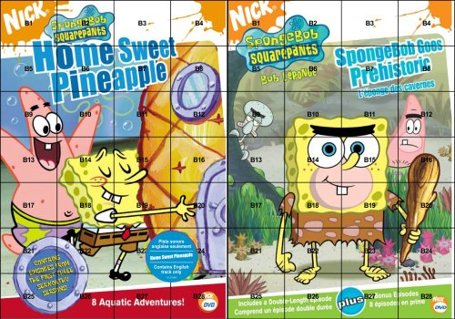 SpongeBob SquarePants: Home Sweet Pineapple/Spongebob Goes Prehistoric