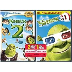 Shrek 2/Shrek 3D