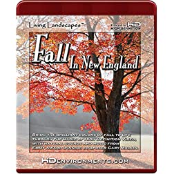 Living Landscapes: Fall In New England [HD DVD]