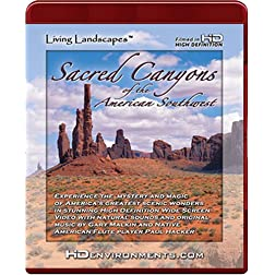Living Landscapes: Sacred Canyons of the American Southwest [HD DVD]