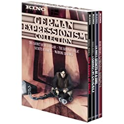 German Expressionism Collection (The Hands of Orlac / The Cabinet of Dr. Caligari / Secrets of a Soul / Warning Shadows) (4pc)