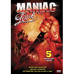 Maniac Love (5-Pack: Whispers From A Shallow Grave, Camp Utopia, Bloodletting, Bent Volume Three)