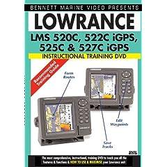 LOWRANCE LMS 520C, 522C iGPS, 525C, & 527C IGPS