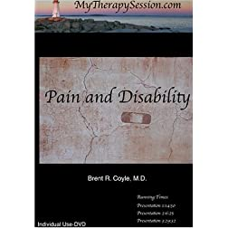 Pain, Disability and New Medical Problems-Individual Use DVD Copy*