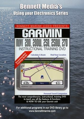 GARMIN NUVI 200, 250, 270