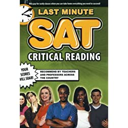 Last Minute SAT Critical Reading