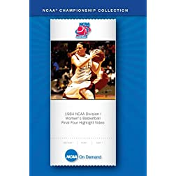 1984 NCAA Division I Women's Basketball Final Four Highlight Video
