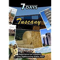 7 Days  TOSCANA Italy