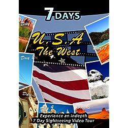 7 Days  U.S.A. The West