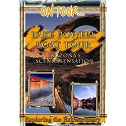 On Tour...  LAKE POWELL BOAT TOUR Arizona's Scenic Sensation