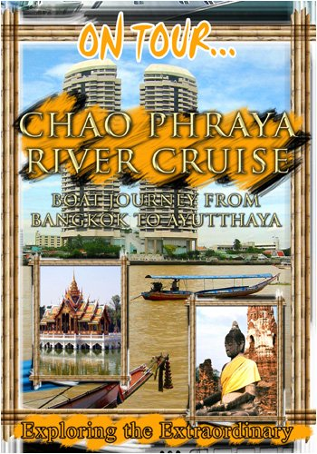 On Tour... THE ROYAL RIVER CRUISE Boat Journey From Bangkok To Ayutthaya