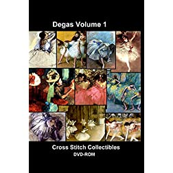Degas Cross Stitch Vol. 1