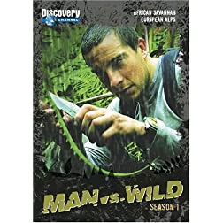 Man vs. Wild  - Season 1 - African Savannah and European Alps