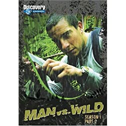 Man vs. Wild Season 1 DVD Set Part 2