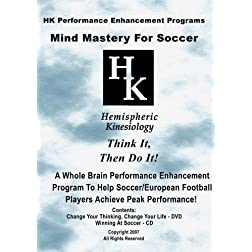 Mind Mastery For Soccer (DVD & CD)