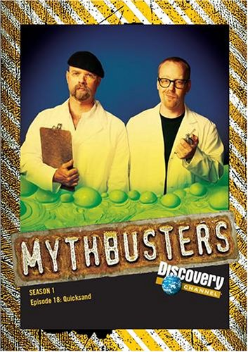 MythBusters: Season 1 DVD - Episode 18: Quicksand