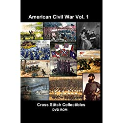Civil War Cross Stitch Vol. 1