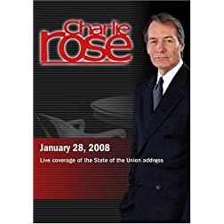 Charlie Rose - Live coverage of the State of the Union address (January 28, 2008)