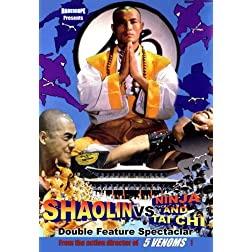 Rarescope Double Feature Shaolin vs. Ninja & Shaolin vs. Tai Chi