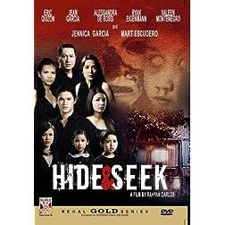 Hide & Seek - Philippines Filipino Tagalog DVD Movie
