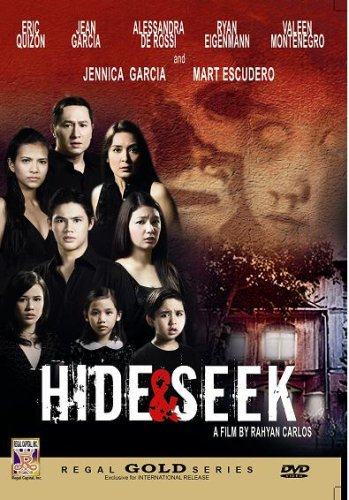 Hide & Seek - Philippines Filipino Tagalog DVD Movie