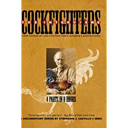 COCKFIGHTERS: THE INTERVIEWS (4 2-hr. disc set)