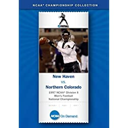 1997 NCAA Division II Men's Football National Championship - New Haven vs. Northern Colorado