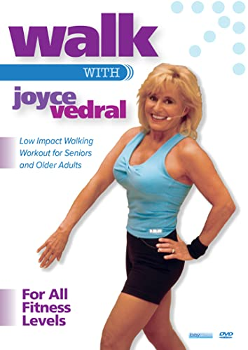 Walk With Joyce Vedral - Low Impact Walking Workout
