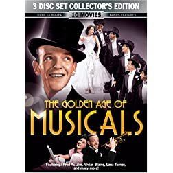 The Golden Age Of Musicals (10 Movie Pack)