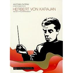 Herbert Von Karajan: Dvorak - Symphonies Nos. 8 and 9