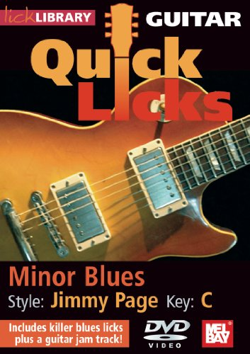 Quick Licks for Guitar - Jimmy Page Minor Blues Key of C