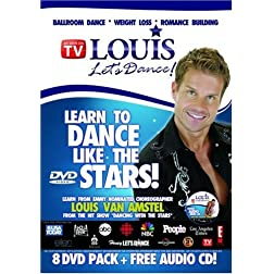 Louis Let's Dance - 8 DVD's + Bonus CD
