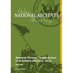 AMERICAL DIVISION - SNIPER SCHOOL (23D INFANTRY DIVISION), 08/1971 [SILENT, UNEDITED]