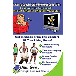 The Couch Potato Workout Series: 6 Workouts, 2 DVDs (Resistance Training Exercises; Abs & Cardio)