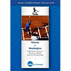 1996 NCAA Division I Women's Softball National Championship - Arizona vs. Washington