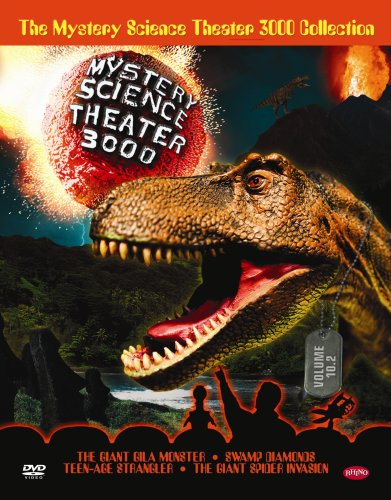 The Mystery Science Theater 3000 Collection - Volume 10.2 (Giant Gila Monster / Swamp Diamonds / Teenage Strangler / Giant Spider Invasion)