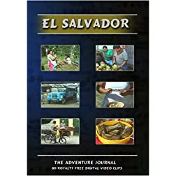 El Salvador Royalty Free Stock Footage