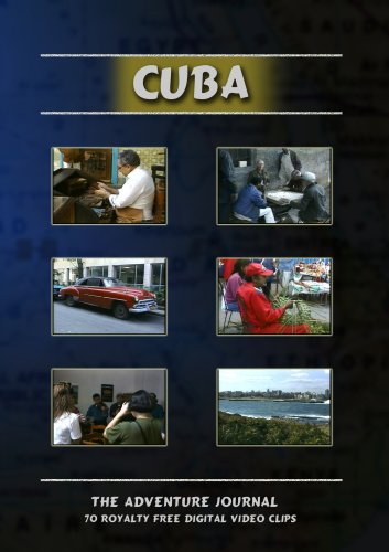Cuba Royalty Free Stock Footage