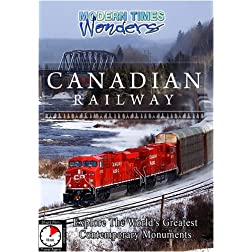 Modern Times Wonders  CANADIAN RAILWAY Canada