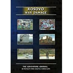 Kosovo War Damage Royalty Free Stock Footage
