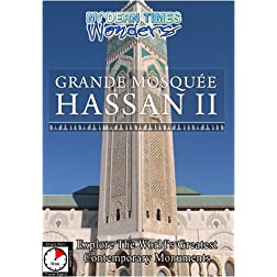 Modern Times Wonders  GRANDE MOSQUEE HASSAN II Casablanca/Morocco
