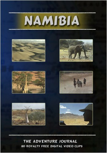 Namibia Royalty Free Stock Footage